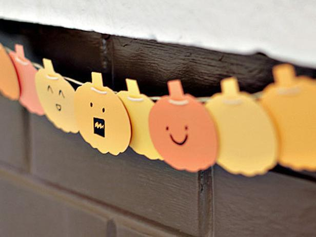 paint chip pumpkin banner