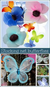 stocking net butterflies