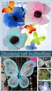 stocking net butterflies