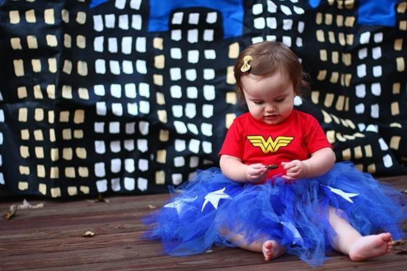 wonder woman superhero baby costume