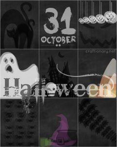 FREE halloween printable craftionary