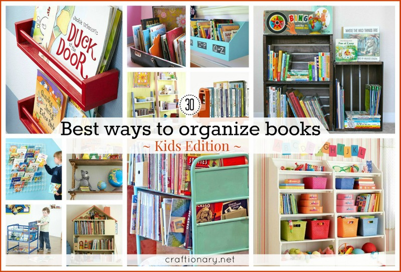 Craftionary How to store books in a small bedroom