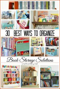 30 best ways to organize books (Storage Solutions)