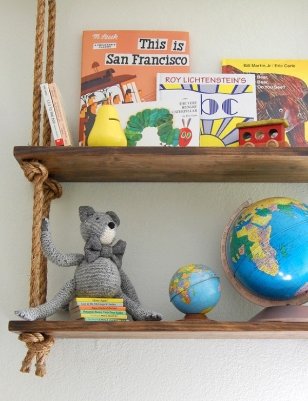cool kids bookcases and shelves