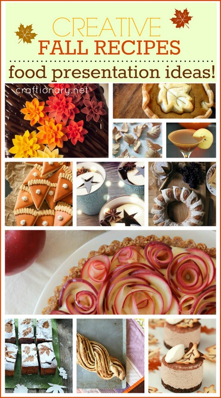 creative fall recipes - craftionary.net