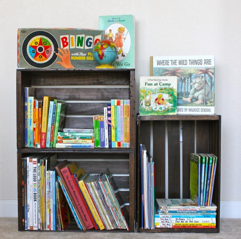 Craftionary for Diy kids bookshelf ideas
