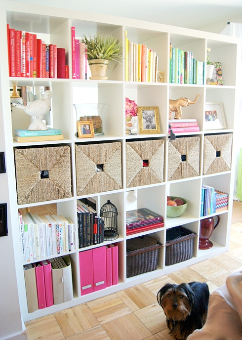 Diy Living Room Storage Ideas : ... bookcase to organize books, toys and more in kids room/ playroom