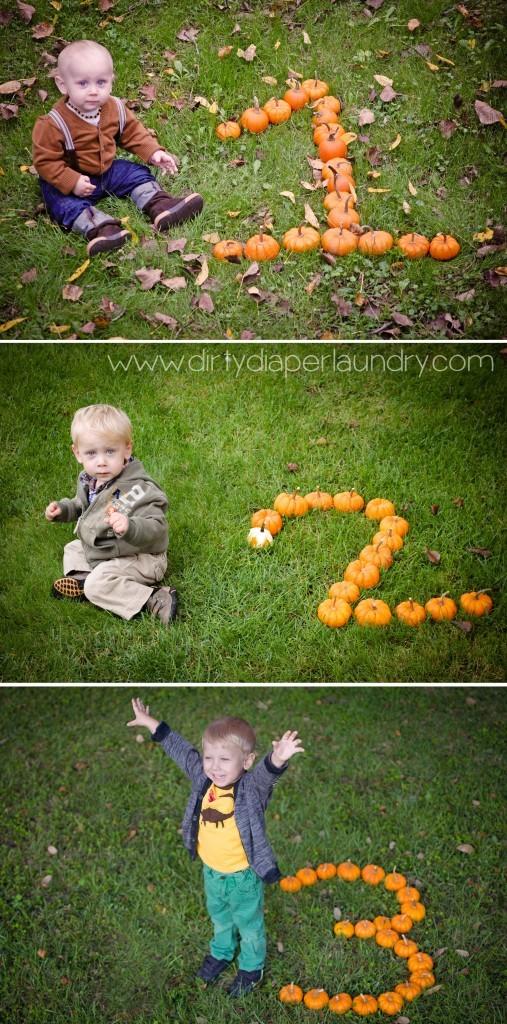 Yearly Fall Kids Photo