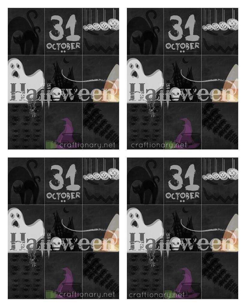 FREE halloween printable greeting cards craftionary