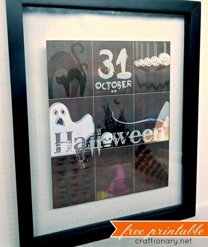 halloween printable craftionary