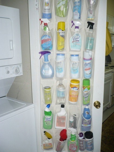 home organization laundry room