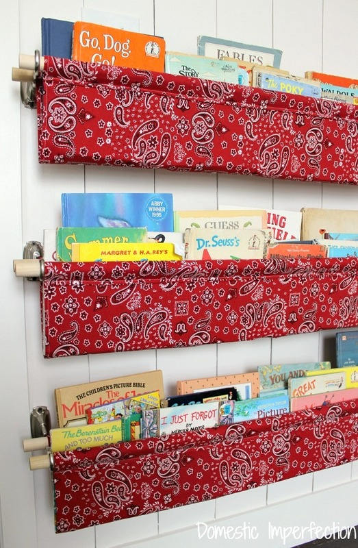 make kids books hanging storage & Craftionary