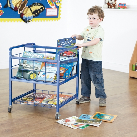 Kids portable books storage