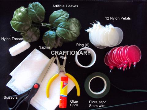 stocking net nylon rose flower material things