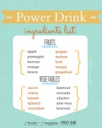 free printable power drink