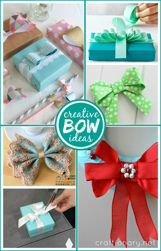 Creative Bow Ideas At Craftionary