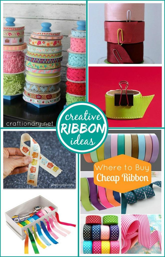 Creative ribbon ideas at craftionary.net
