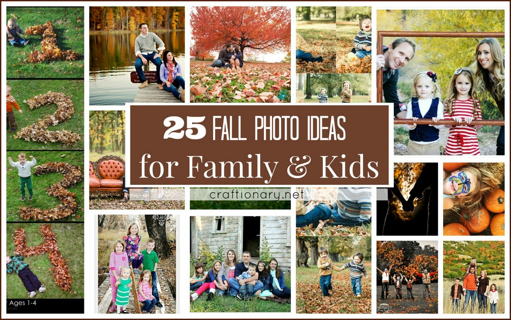 Autumn Fall Photo Ideas For Family And Kids At Craftionary