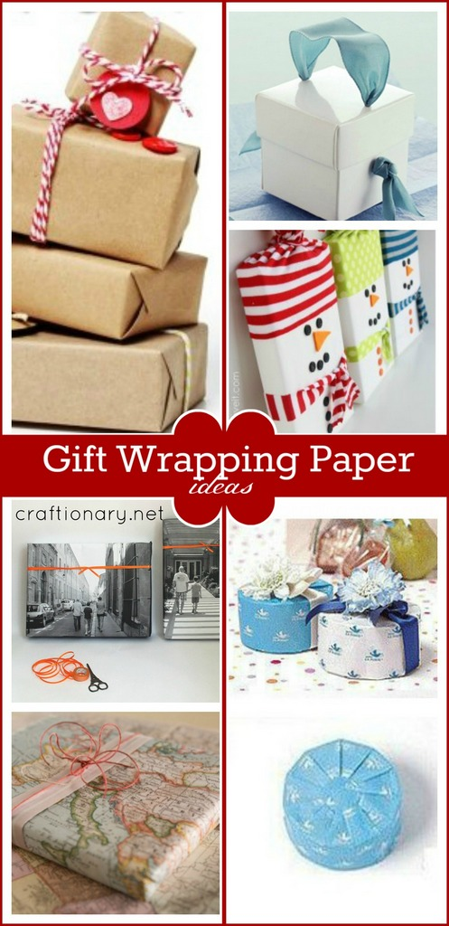 Types of Gift wrapping paper at craftionary.net