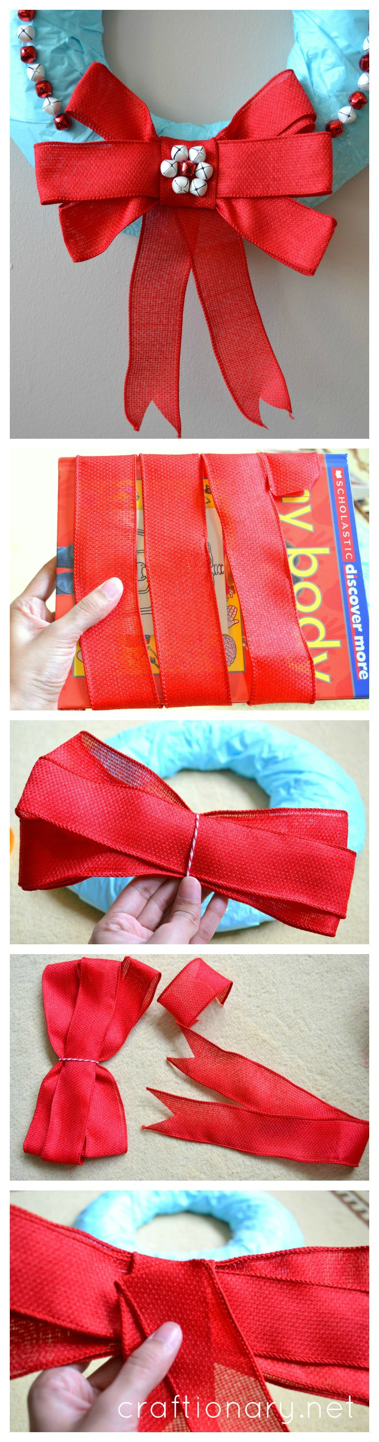 Make a perfect bow - easy tutorial at craftionary.net #bow