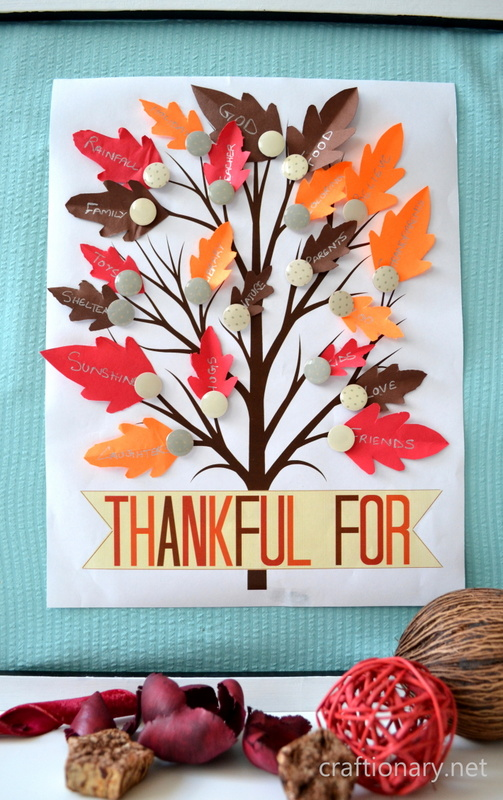 Thanksgiving Cutouts Free Printable