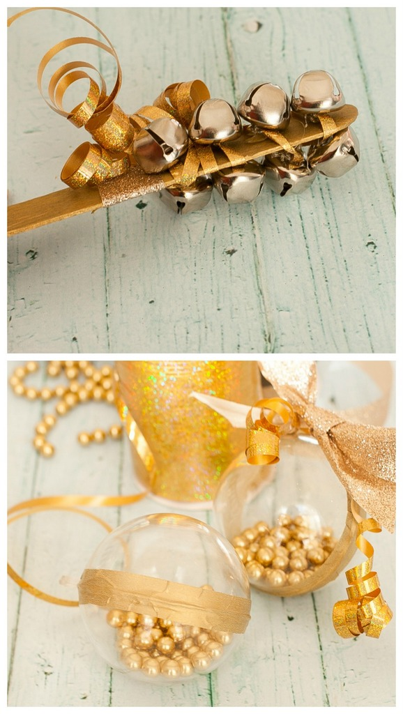 DIY NYE ideas - party noise makers