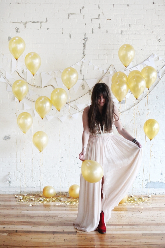 DIY NYE ideas - Backdrop
