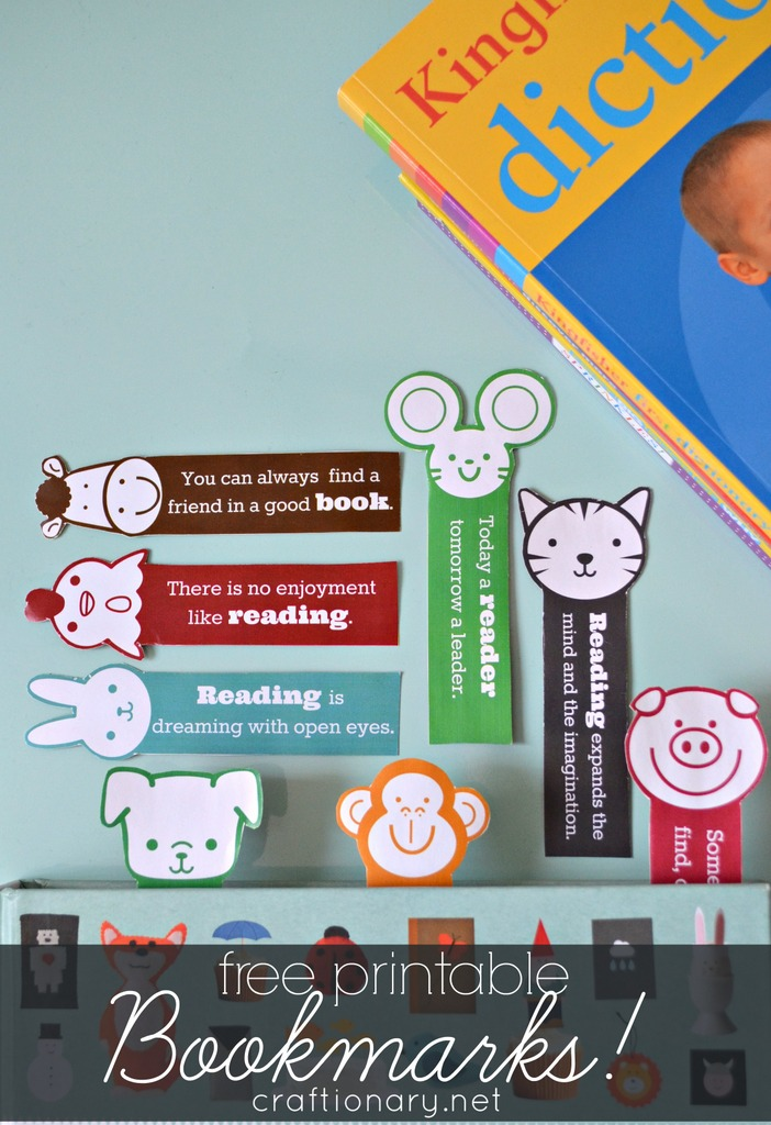 motivational bookmarks for kids