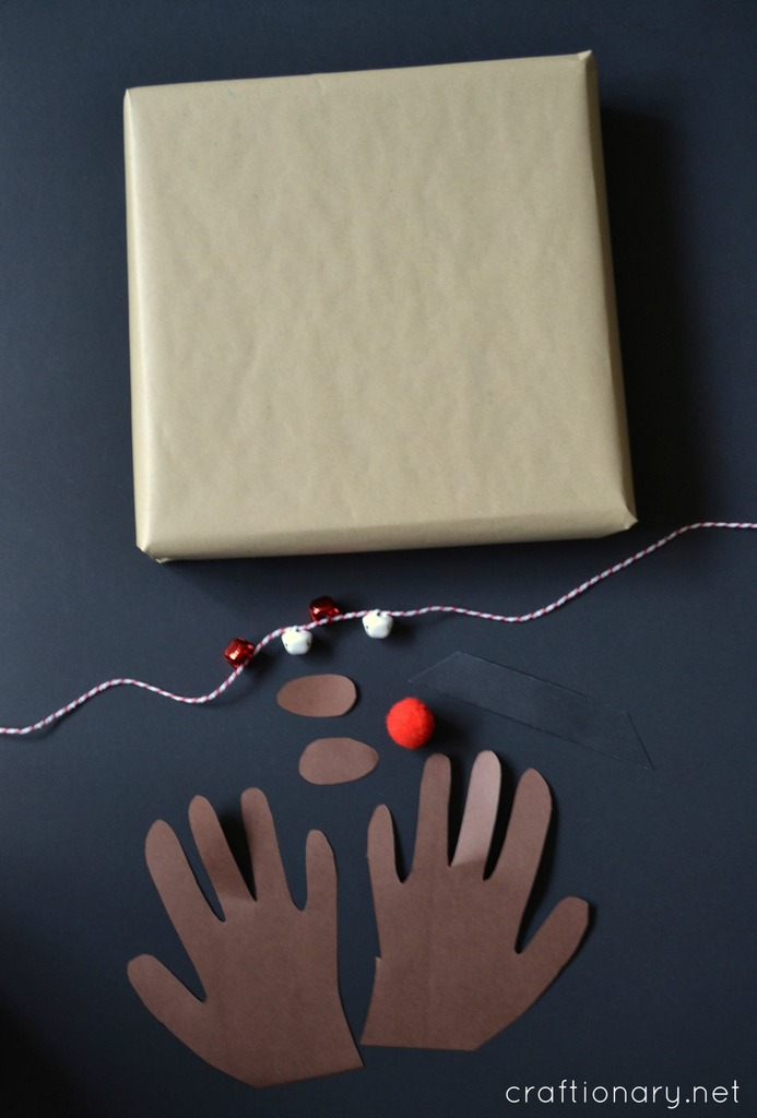 DIY Rudolph gifts tutorial