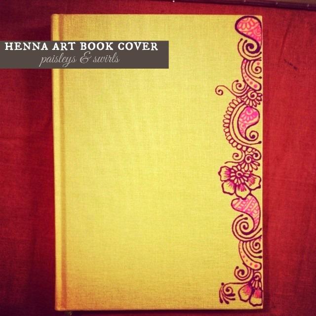 Henna art book cover