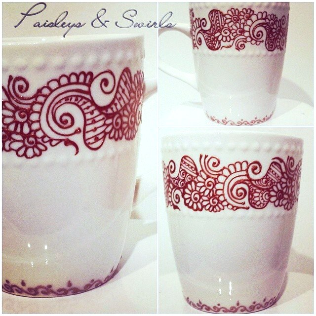 Henna mugs