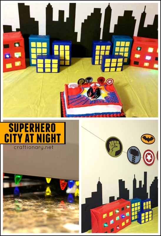 DIY lighted buildings