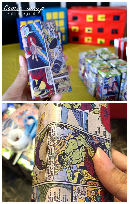 superhero wrapping paper Over the weekend we celebrated our youngest sons 4th birthday with a vintage inspired superhero birthday party wrapping paper a superhero party for.