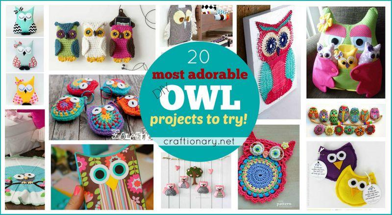 DIY Owl Ideas