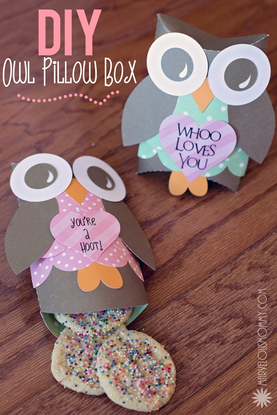 Craftionary owl pillow boxes pronofoot35fo Images