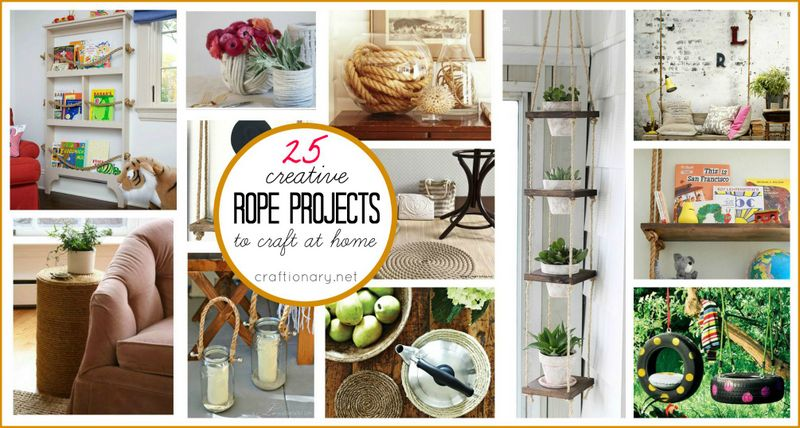 responses to 25 creative diy rope projects to craft at home