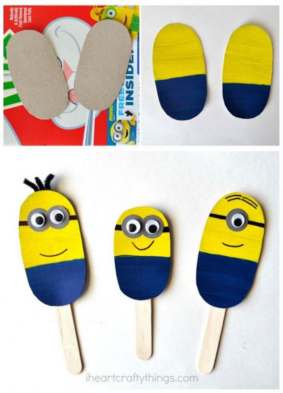 DIY minions puppets