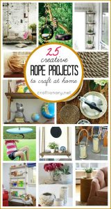 25 Creative DIY rope projects to craft at home