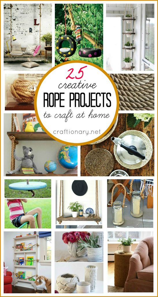 diy rope projects to