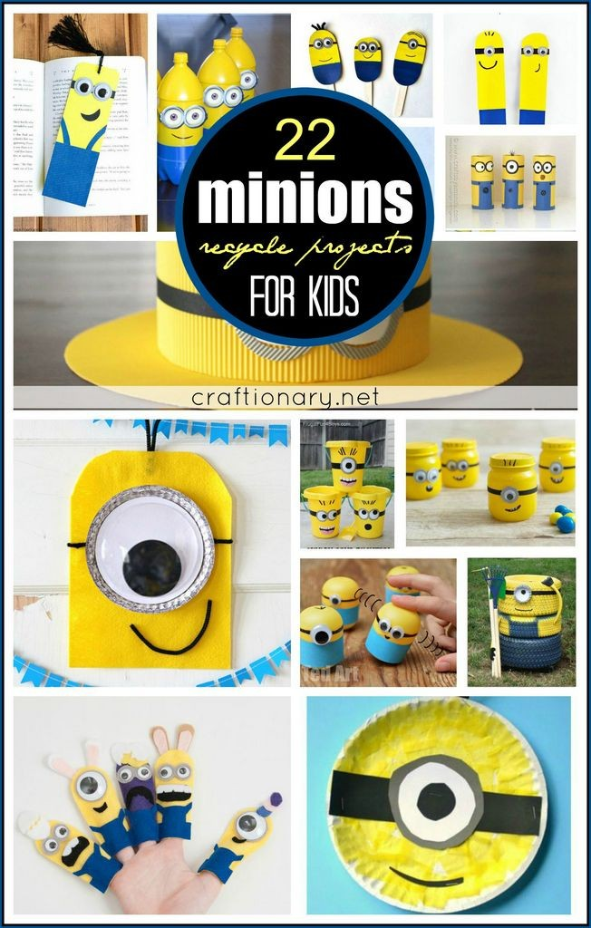 DIY Minions recycle projects