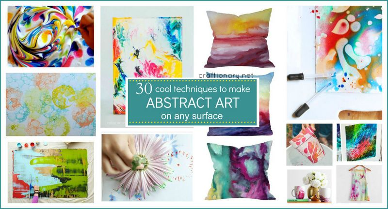 Diy abstract art projects diy abstract art solutioingenieria Image collections