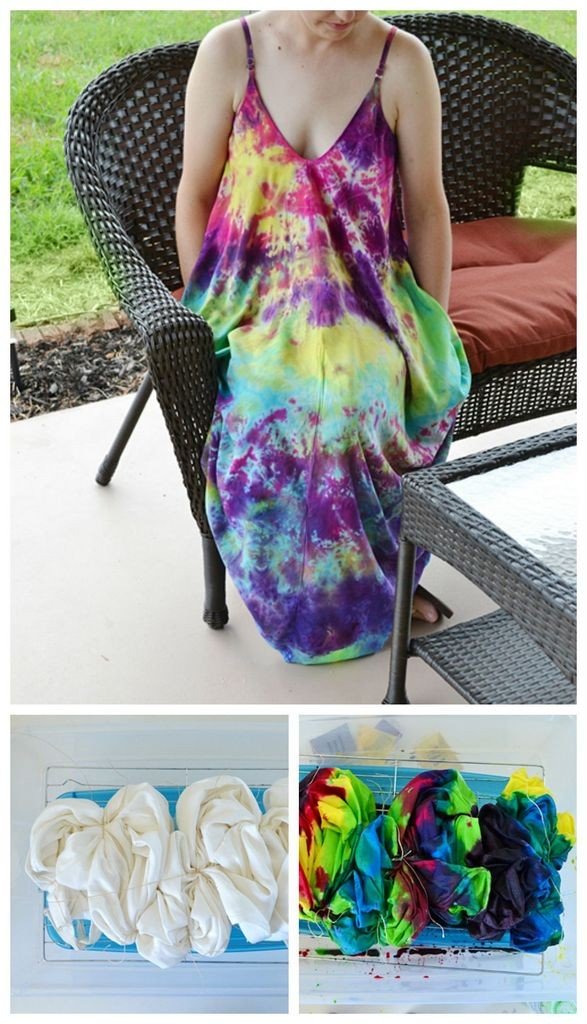 8abf6829d0c34b DIY abstract tie dye dress