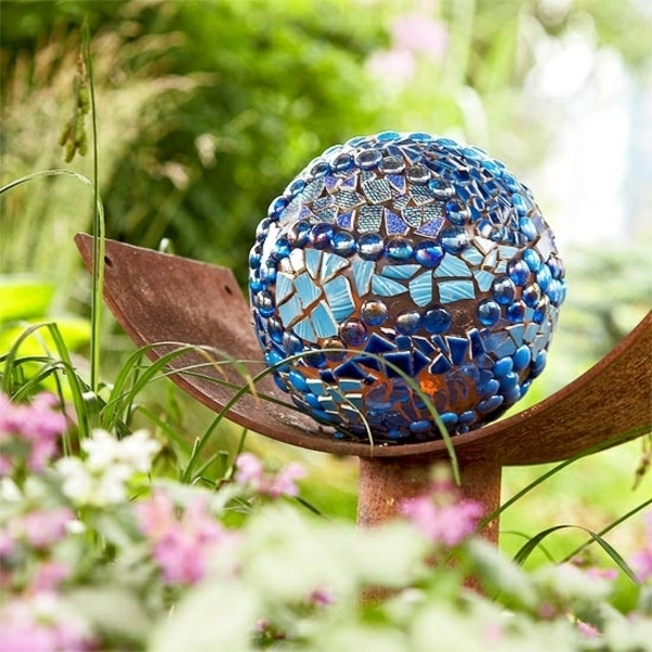 DIY Glass Mosaic Ball