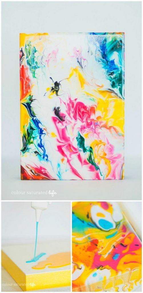 Craftionary for Diy abstract acrylic painting