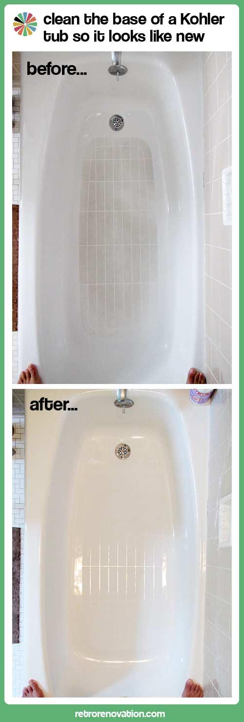 Beau How To Clean Kohler Tub?