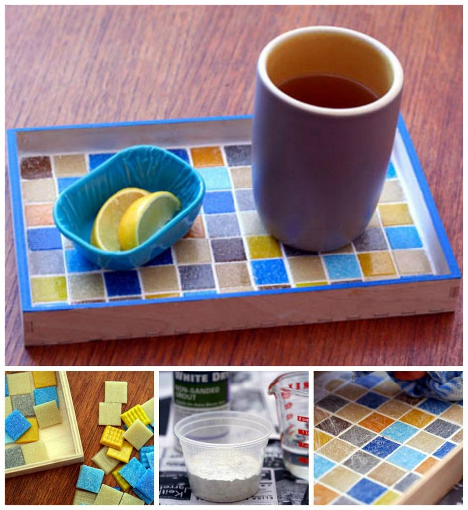 Craftionary mosaic tray tutorial a tutorial to make diy solutioingenieria Gallery