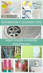Bathroom cleaning tips at craftionary.net
