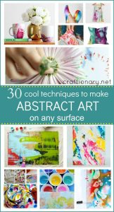 30 ways to make Abstract Art projects