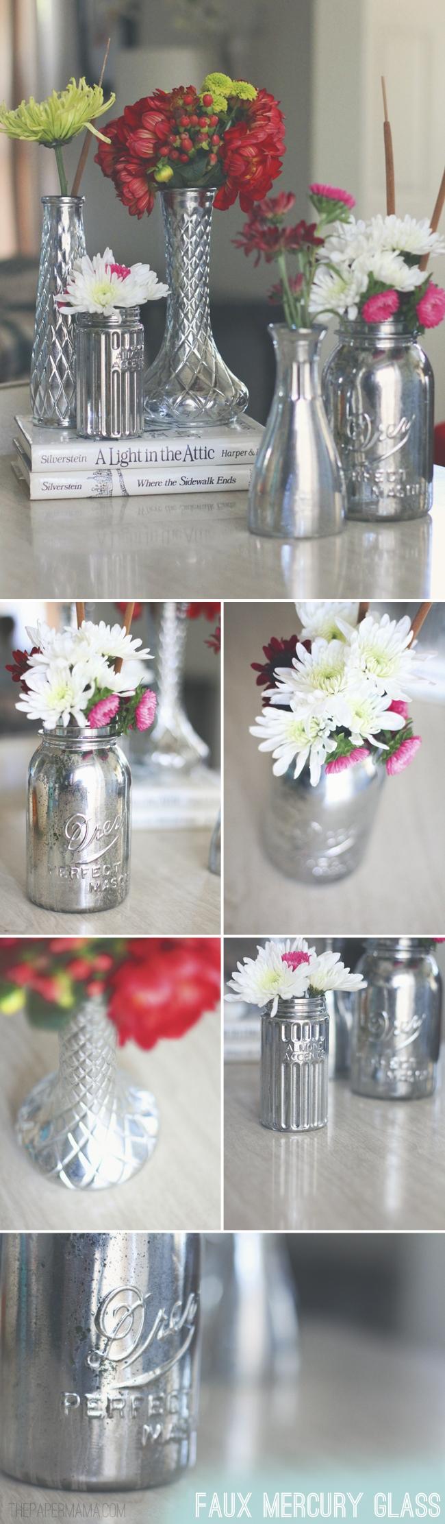 Mirror paint vases tutorial