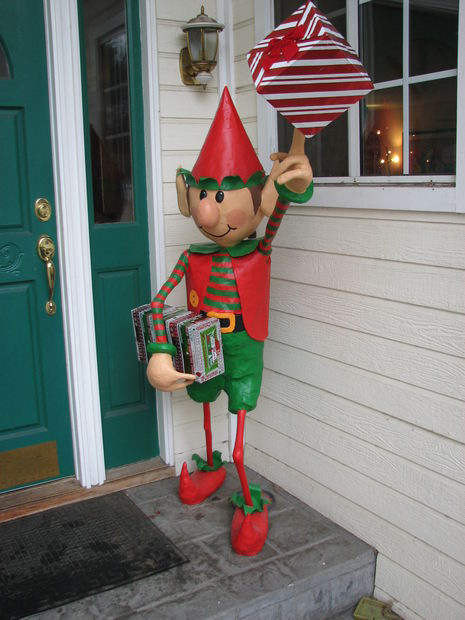 Elf Craft- Back Yard Elf